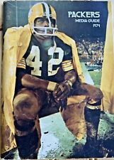 Vintage Nice 1974 Green Bay Packers Media Press Guide John Brockington Cover