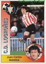 166 MANDIA ESPANA CD.LOGRONES STICKER CROMO LIGA 1995 PANINI