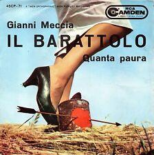 Gianni Meccia – Il Barattolo/Quanta Paura  45 giri  1960 NM/NM