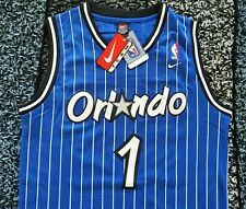 NWT NIKE Anfernee Penny Hardaway Orlando Magic Jersey Size S Throwback Blue RARE