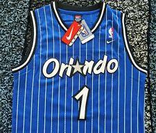 NWT NIKE Anfernee Penny Hardaway Orlando Magic Jersey Size S Throwback Blue RARE