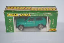 LADA NIVA 2121 VERTE NEUVE BOITE NEW BOX DE 1982 SCALE 1/43
