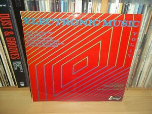 ELECTRONIC MUSIC VOL.IV Olly Wilson.. UK 70 TURNABOUT 1st Press EXPERIMENTAL LP