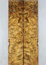 ZS059 Bookmatch Inlay Wood Birdseye Golden Camphor Box Making marquetry veneer