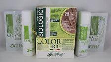 Naturerbe COLOR ERBE bio Tinta TINTURA biologica capelli 60ml  28 BIONDO CHIARO
