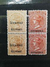 Australian Stamps -- Australian States 59e, 93