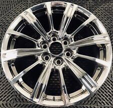 """CADILLAC XT5 18"""" BRIGHT CHROME PVD FINISHED FACTORY OEM WHEELS RIMS 2016-2018"""