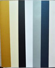 Gold/White/Ivory/Silver/Lapis Blue/Cream/Black Pearl Paper & Card 295 x 75/85mm