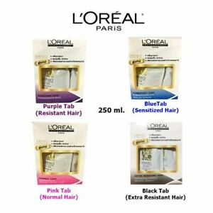 L'Oreal X-Tenso permanent hair cream straightener natural smooth bright  250 ml.