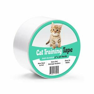 "Anti-Scratch Cat Training Tape Scratch Prevention for Furniture (3"" x 30 yds)"