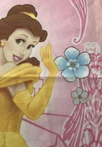 "Disney Princess Curtain 41x63"" Pink Belle Cinderella Aurora Bedroom Decor"