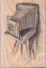 Old Time Camera Rubber Stamp Photography