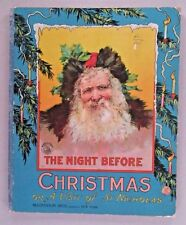 The Night Before Christmas, or A Visit of St Nicholas ~ c 1900 ~~ McLoughlin hc