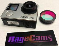 GOPRO Hero4 Argent Caméra Plat Spectre Complet Ir Infrarouge Nv + Enfiler Jour