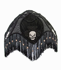Victorian Skull Lampshade Day Of The Dead Halloween Gothic Katherines New
