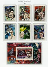 Cent African Rep Mnh 844-50 Scientists and Inventions Zg797