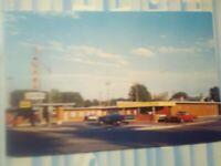 VINTAGE POST CARD EAST PARK MOTEL  BURLEY IDAHO