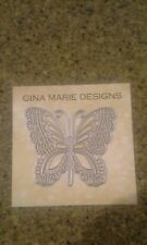 Gina Marie designs metal cutting dies - Lace Butterfly