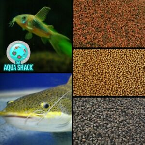 Assorted Sinking Catfish Pellets Aquarium Pond Foods Corydoras Synodontis Diet