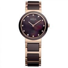 Runde Damen-Armbanduhren mit Saphirglas für Erwachsene