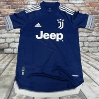 ADIDAS JUVENTUS 20/21 AWAY AUTHENTIC JERSEY MEN'S SMALL FN1007 MSRP $130