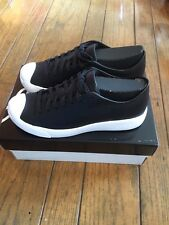 NIB Converse Jack Purcell Modern Black Leather Low-Top Sneakers Size 7 Men