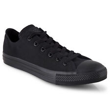 Converse Chuck Taylor All Star Low Casual Shoes - Unisex - Black Men's US 11