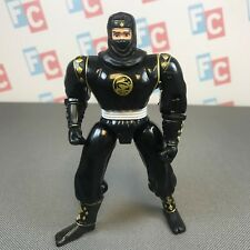 Bandai 1995 Mighty Morphin Power Rangers One-Two Punch Black Ninja Ranger Figure