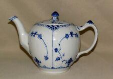 Royal Copenhagen ~ blue fluted half lace ~ teapot ~ mint