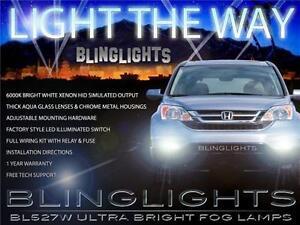 Nebel Lampe Fahren Licht Set Xenon Nebelscheinwerfer Für 2010 2011 Honda Cr-V