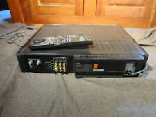 Sony Super-VHS SLV-R5UC S-VHS/VHS Deck with Remote - PARTS OR REPAIR ONLY