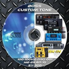 6.758 Patches BOSS SY-300,ME-25,GT-Pro,100,100v,GT-001,GP-10 CUSTOM TONE PRESET