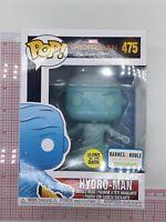 Funko Pop Spider-Man Far From Home Hydro-Man #475 GITD Barnes & Noble Glow E04