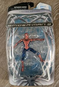 Hasbro Spider-man 3 Limited Edition Wall-hanging Web Metallic Spiderman Figure