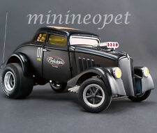 ACME A1800907 PORK CHOP'S 1933 WILLY'S GASSER JAILBREAK 1/18 DIECAST BLACK