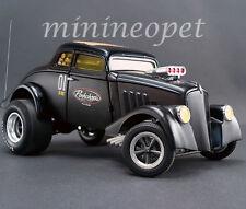 ACME A1800907 PORK CHOP'S 1933 WILLY'S GASSER JAILBREAK 1/18 DIECAST BLACK