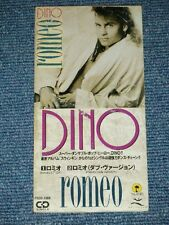 "DINO  Japan 1990 Tall 3"" CD Single ROMEO"