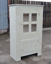 Large Painted Larder Cupboard Shabby Chic Kitchen Cabinet Storage Tall Boy