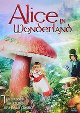 ALICE IN WONDERLAND - Natalie Gregory (DVD, 1985) - Brand New!!