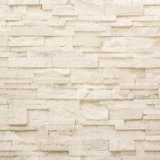 Vliestapete P+S Stein Steine Mauer 3D Optik beige creme 02363-50 (2,06?/1qm)