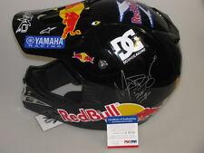 ROBBIE 'MADDO' MADDISON Hand Signed Moto X Helmet + PSA COA + EXACT PHOTO PROOF