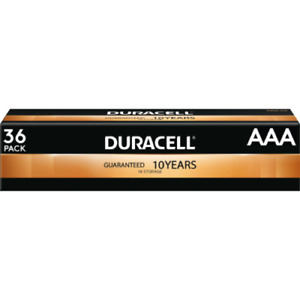 36 Count Duracell AAA Alkaline Batteries March 2030 $21.97 Free Shipping