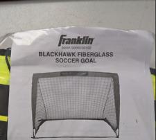 Franklin Blackhawk Fiberglass Soccer Goal, 6.5'x3.5',