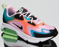 Nike Air Max 200 SE Women's Arctic Pink Black Athletic Lifestyle Sneakers Shoes