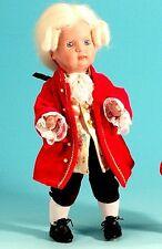 Schildkröt Puppenkleidung und Puppen Perücke Modell Mozart für 41 cm Puppen 060
