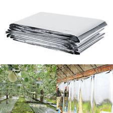 PET Reflective Mylar Film Greenhouses Trees Increase Temperature Light 210x120cm