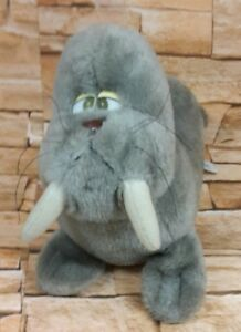 Vintage soft toy Wiley Walrus From Pedigree, Dolls and Toys Ltd, Canterbury,
