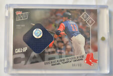 2017 Topps Now Rafael Devers Players Weekend Game-Used Jersey Relic PWR-6B to 99