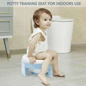 Baby Portable Toilet Potty Training Seat Multifunctional Kids Potty Chair
