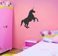 Unicorn wall decal removable kid sticker nursery children mural decor mural art